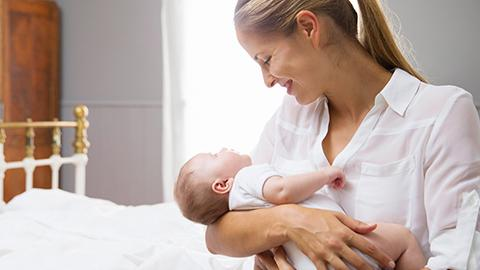 Llevando al bebé a casa