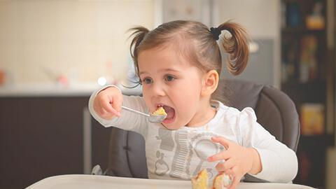 Porciones de comida ideales para tu pequeño: Etapa 1 a 2 años